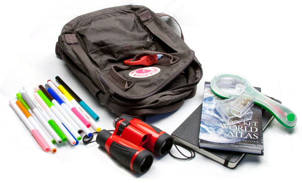 What's in your backpack?